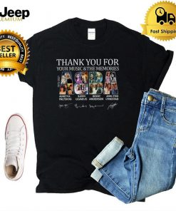 ABBA Thank You For Your Music & The Memories Voyage T Shirt